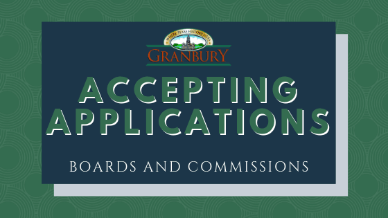 board accepting applications graphic
