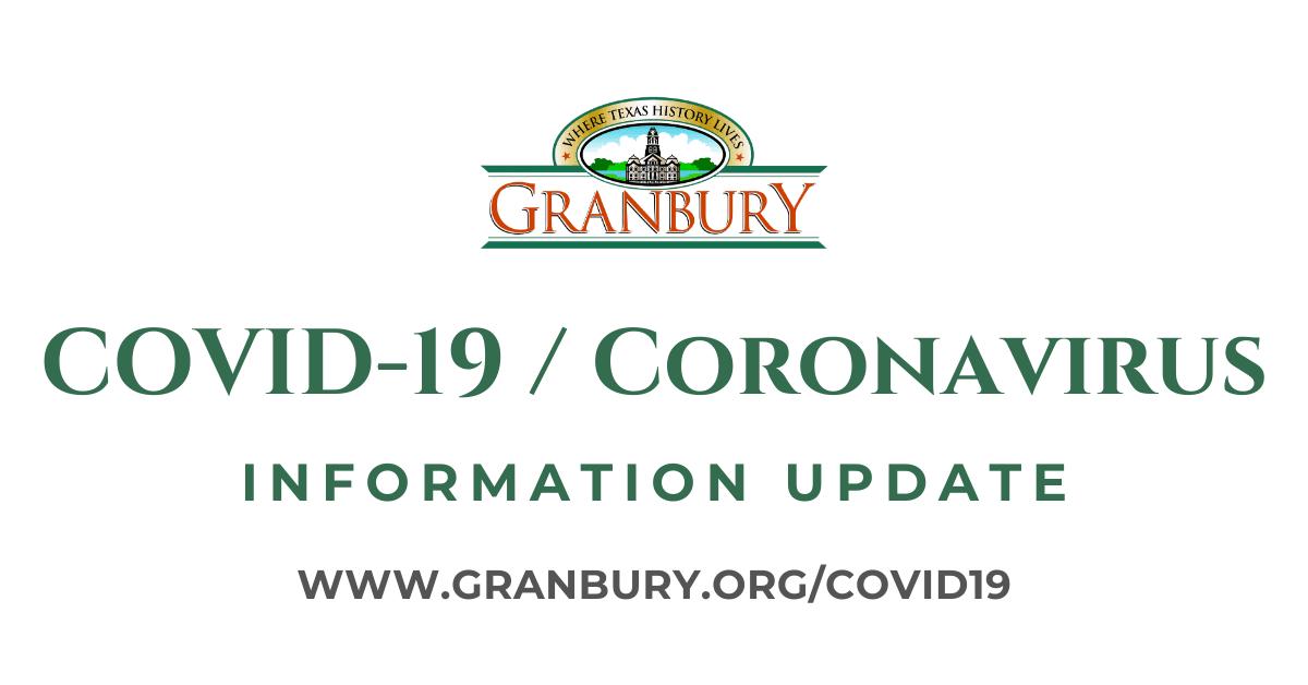 COVID-19/Coronavirus Information Update