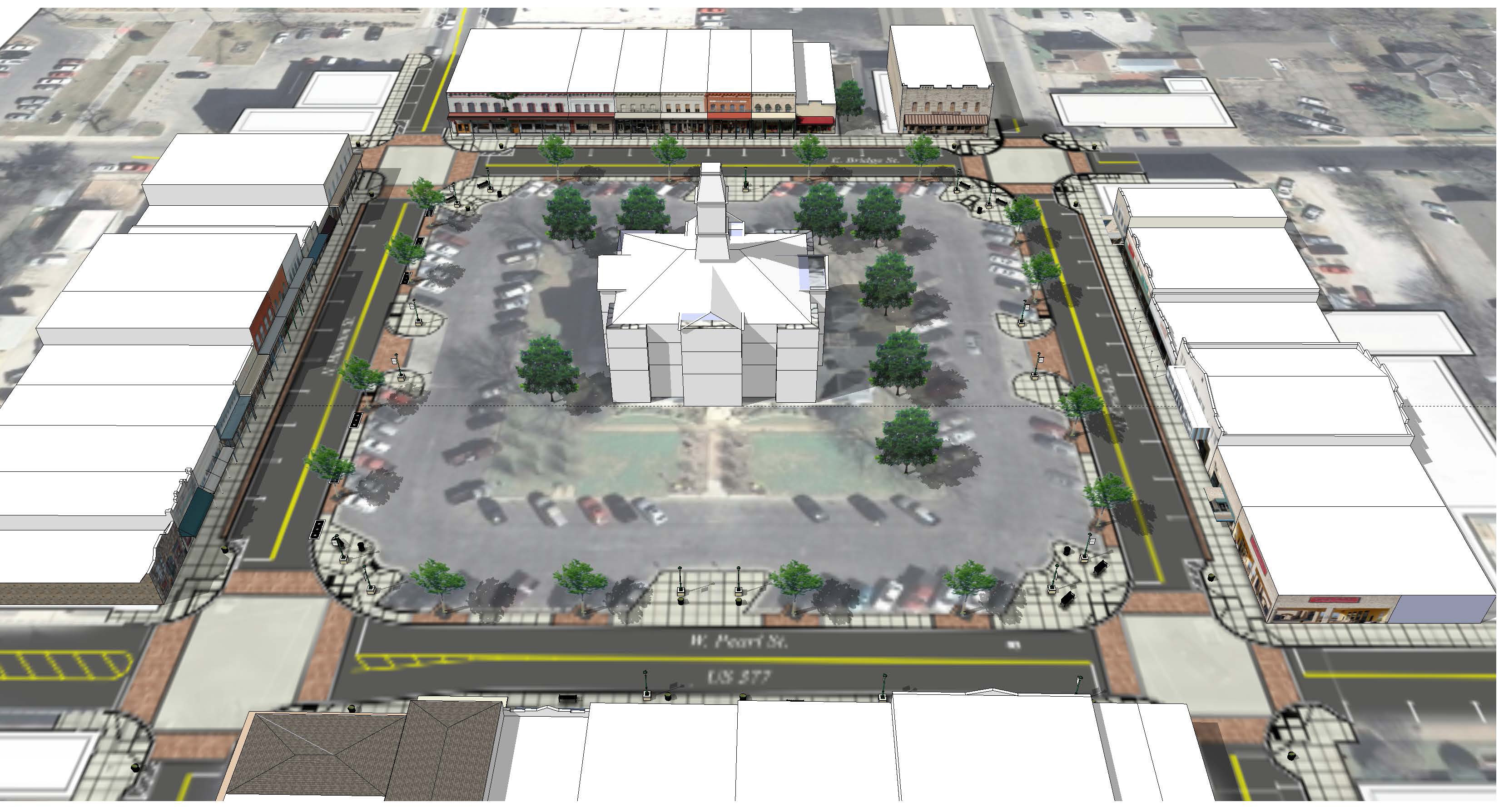 Granbury, TX - Official Website - Downtown Streetscape Project