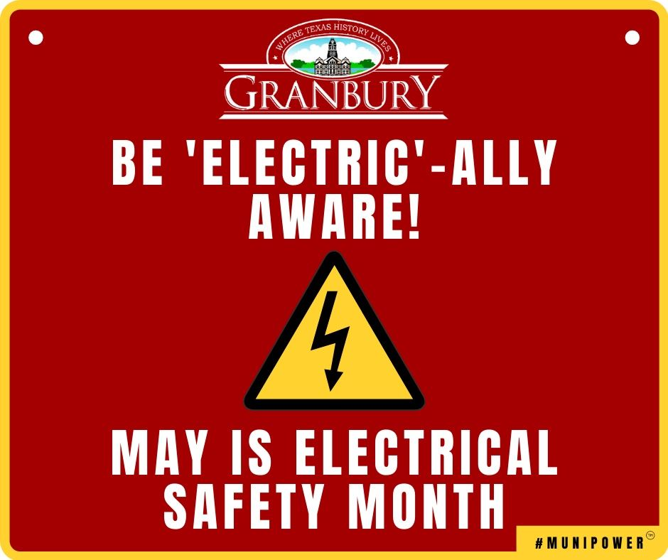 2021 MAY - 1 Electrical Safety month