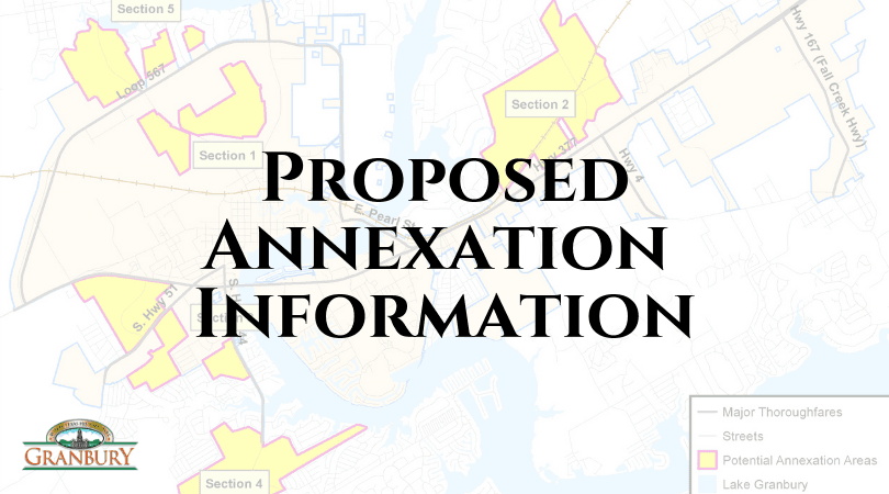 Proposed Annexation Information