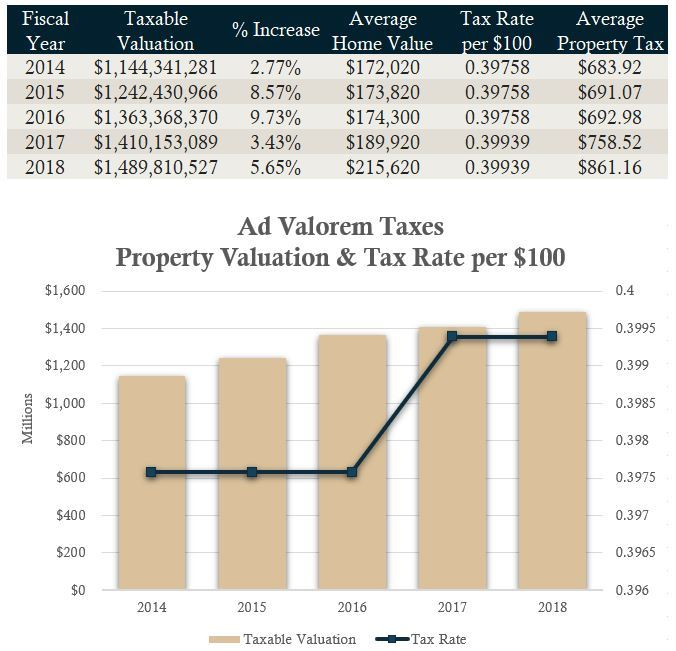 Valuation and Tax Rate FY2019